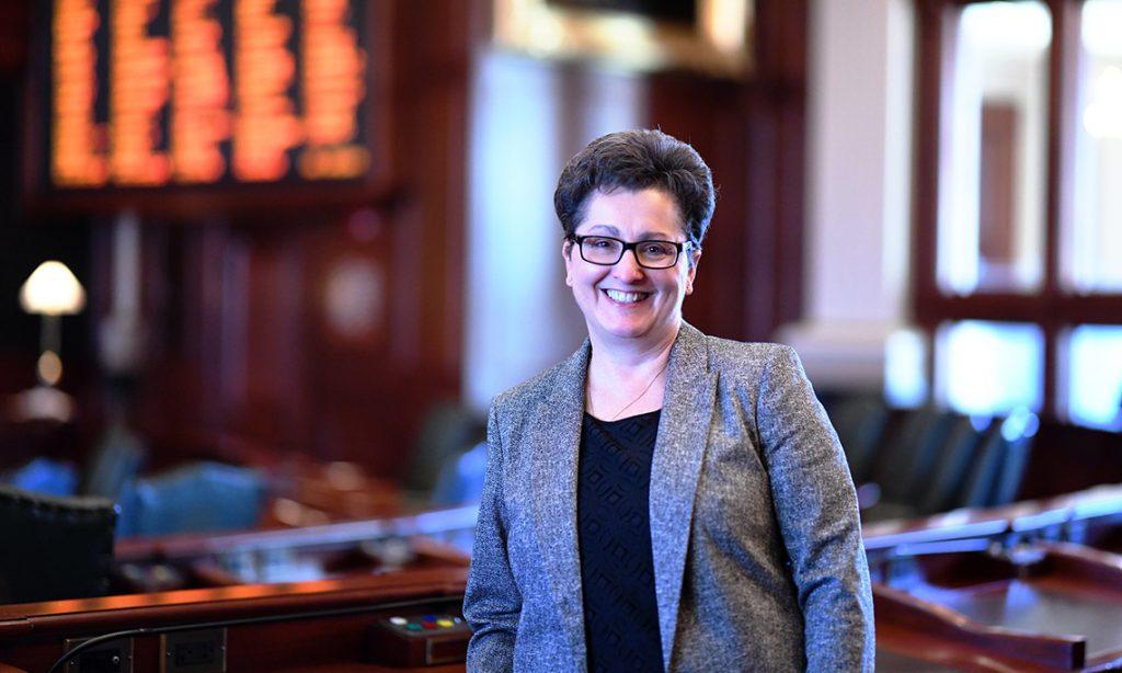 State Representative Jackie Haas